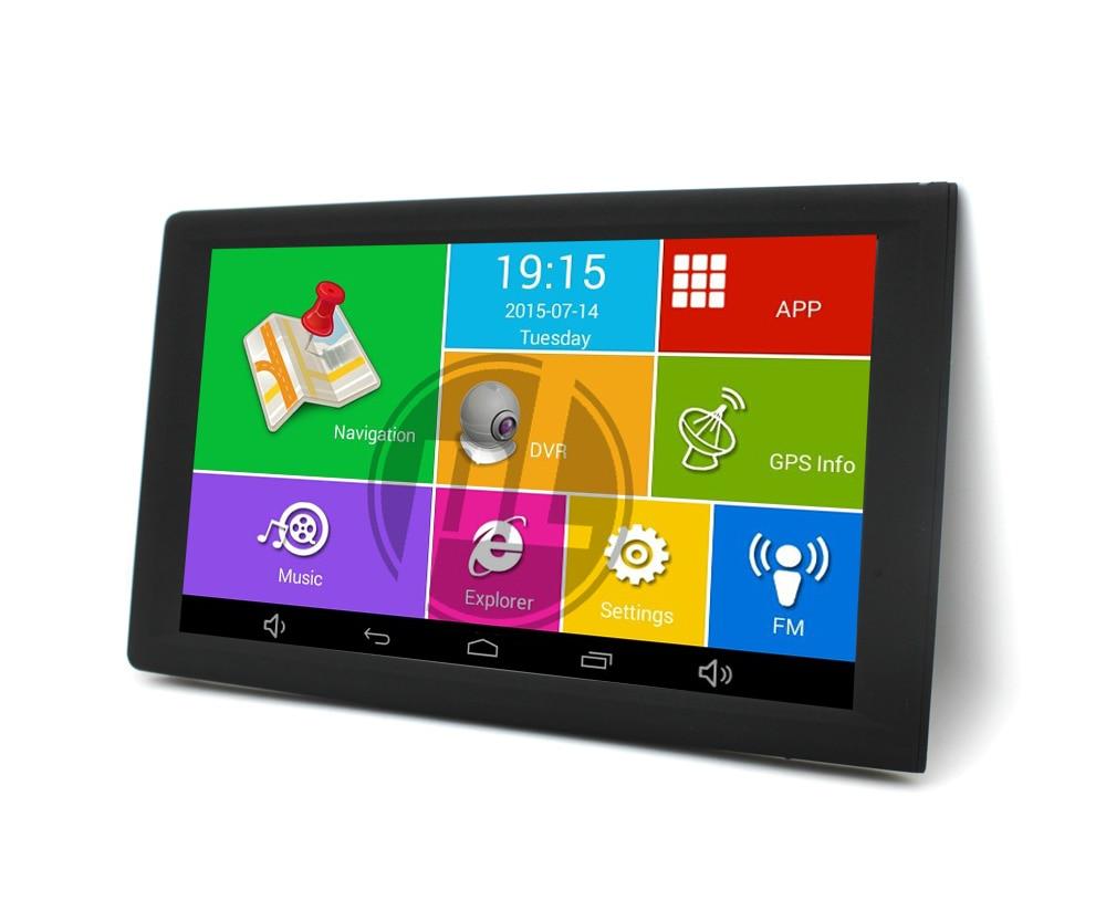 Karadar nouveau 9 pouces voiture Android GPS navigation avec DVR 720 P caméra et BL FM AV-IN RAM MTK8127 8G DDR3 512 mo