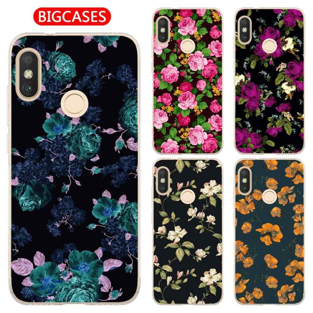 Cactus Pattern TPU Soft Case Cover