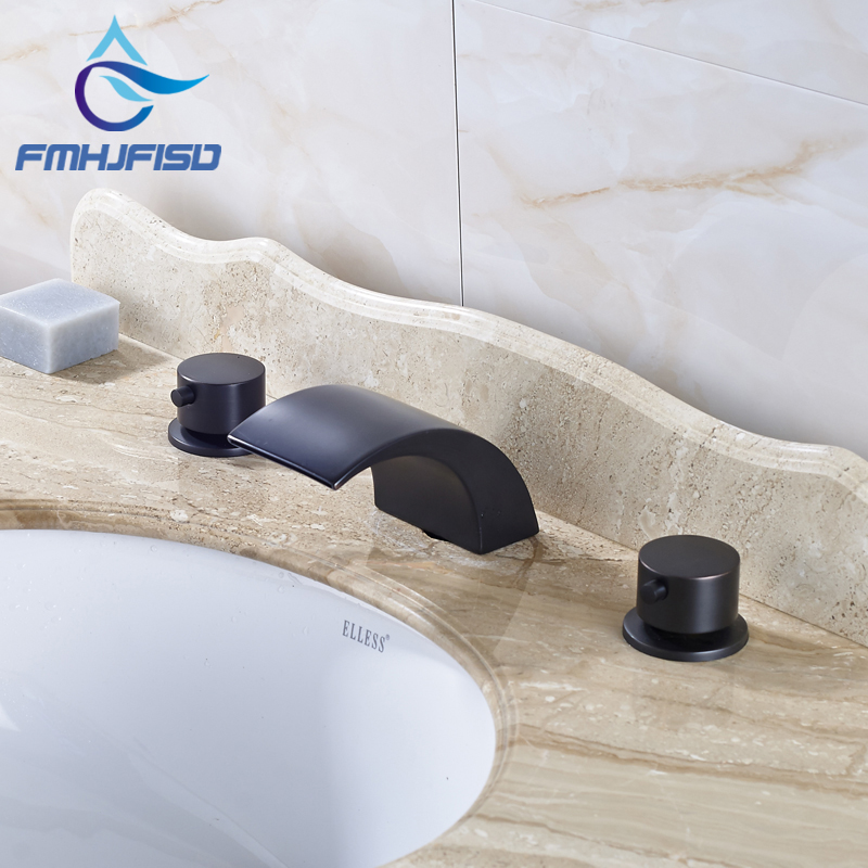 Wholesale and Retail Oil Rubbed Bronze Washroom Basin Faucet Multiple Types Water Taps allen roth brinkley handsome oil rubbed bronze metal toothbrush holder