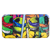 Hot American anime ninja turtle soft silicon cover case for apple iphone 6 6S plus 7 7plus 8 8plus X XR XS MAX phone coque capa(China)