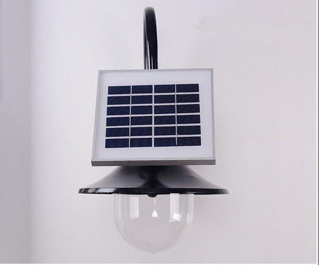 Solar Wandlamp Tuin : Europese led solar outdoor wandlamp villa tuin amerikaanse retro