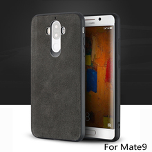 wangcangli brand All-handmade genuine fur phone case For Huawei Mate9 Comfortable touch all-inclusive