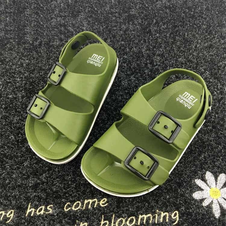 Летние Обувь для мальчиков Обувь Англия Стиль 1-4 года старый ребенок Сандалии для девочек ребенок не скользит Сандалии для девочек 2018 ребен... ...