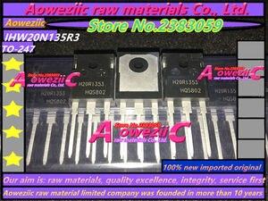 Image 2 - Aoweziic 2018 + 100% новый импортный оригинал H20R1353 IHW20N135R3, силовая трубка IGBT, 1350 в, 20A