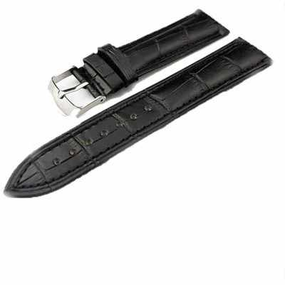 Faixa de relógio De Tiras De Couro PU 14mm 20mm 22mm Moda Homem Mulheres Relógio Acessórios de Alta Qualidade Marrom Preto cores Pulseiras de Relógio