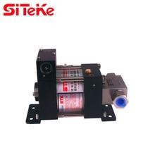 SITEKE M16 Gas-liquid booster pump Max Output Pressure 132.8 Bar Air Driven Liquid Pumps  for oil or water applications