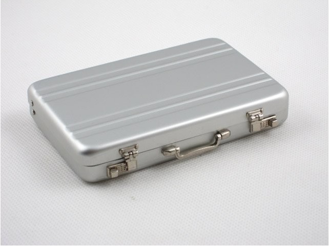 Mini briefcase business card case id holders password aluminium mini briefcase business card case id holders password aluminium credit card holder in card holder note holder from office school supplies on colourmoves