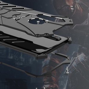 Image 2 - עבור Huawei P30 פרו מקרה R JUST יוקרה אלומיניום מתכת מקרה עבור Huawei P30 פרו Huawei P30 לייט טלפון כיסוי Coque