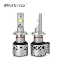 MAXGTRS Car Led Headlights Kit H7 H8 H11 HB3 9005 HB4 9006 9012 D1 D3 CREE