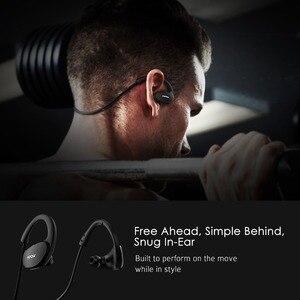 Image 3 - Mpow Cheetah MBH6 2nd generacji bezprzewodowy Bluetooth 4.1 słuchawki z mikrofonem bezprzewodowy połączenia AptX słuchawki sportowe dla smartfonów