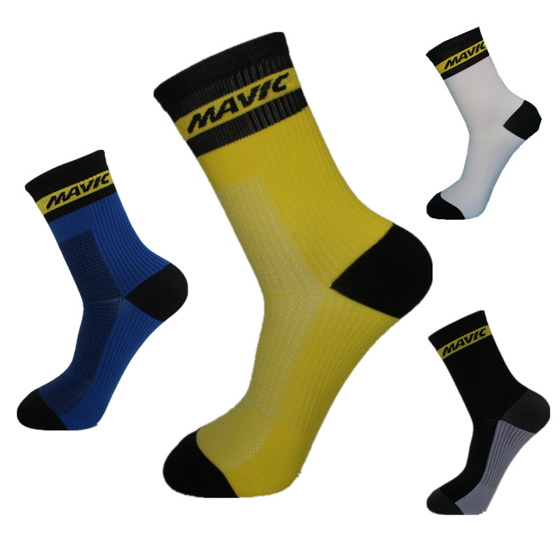 Men Cycling Sport Socks Basketball Running Mountain  Road Bike Bicycle Cycling Socks For Women
