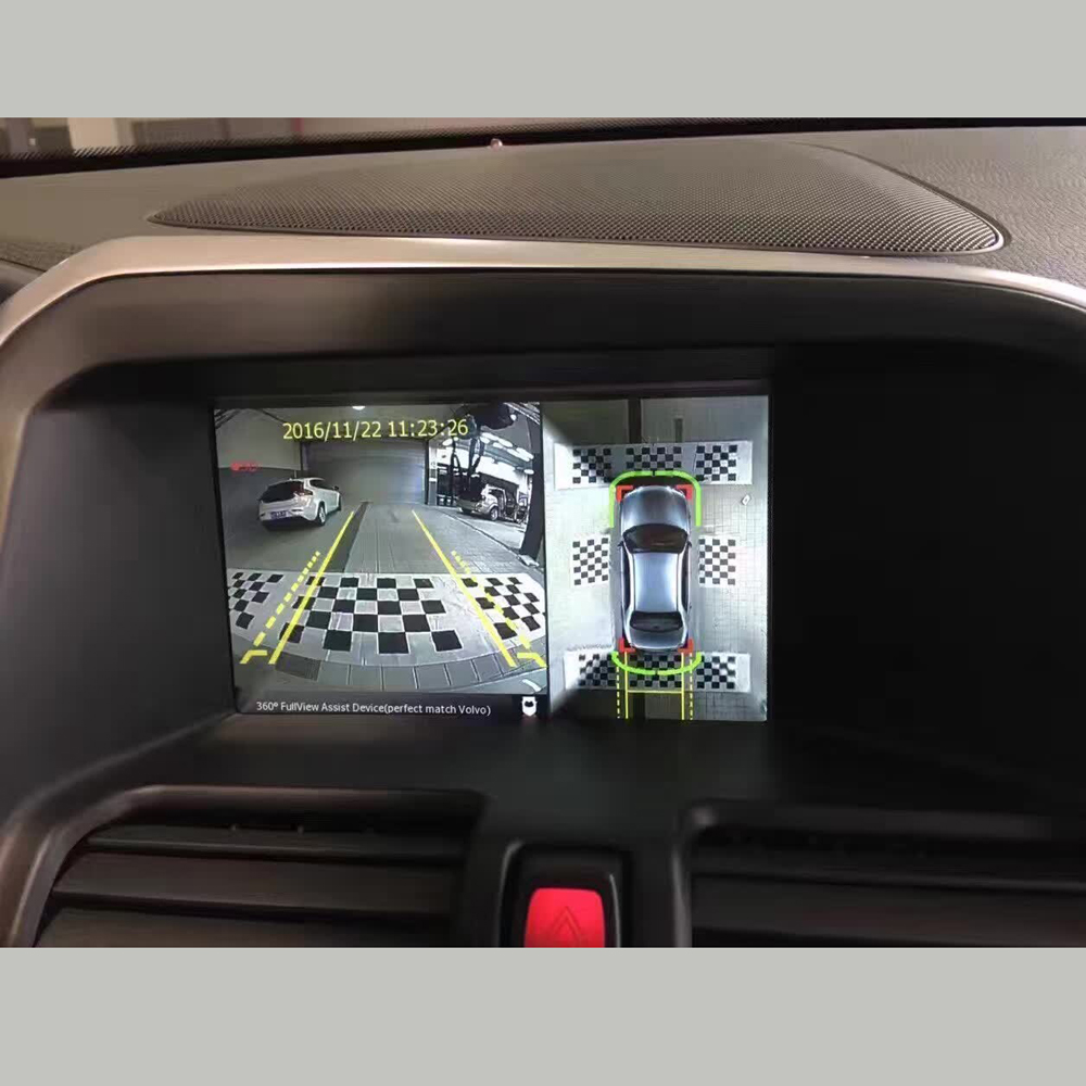 InCar High Definition 360-degree Bird's eye View Panoramic Car Camera For VOLVO