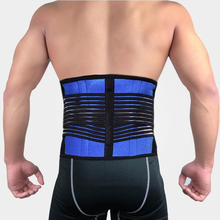 Big Size 5XL 6XL Adjustable Lower Back Support Blet Neoprene Waist Brace Lumber Posture Corrector Health Care