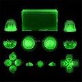 IVY QUEEN Пользовательские Glow in the Dark Полный Кнопки Набор R2 R1 L1 L2 Trigger Dpad Thumbsticks Крышки Для PS4 Playstation 4 контроллер