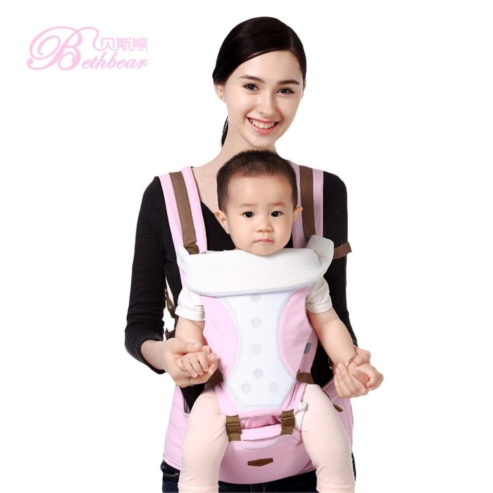 11955d9a0b49 0 30 mois Respirant Multifonctionnel Avant Face Porte Bébé Infantile  Confortable Sling Sac À Dos dans ...