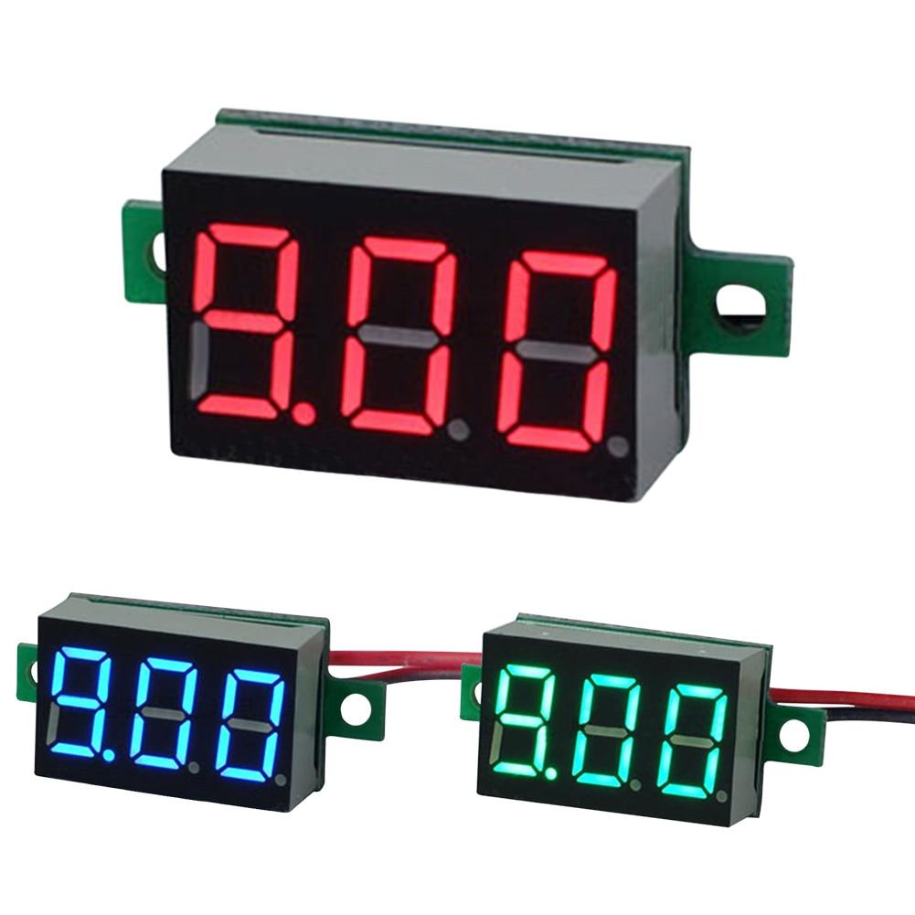 Voltmeter At A Point : Inch led display digital voltmeter two line v