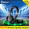 Bingle B616 Wireless FM Radio Headphone TV Headset Multifunction Stereo Wireless Headphone Microphone For MP3 PC