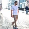 2016 pantalones de la marca de moda kanye west San Manshion hombres Cremallera Lateral delgada Yeezy Aumentar Casual Pantalones basculador Khiki Negro Verde