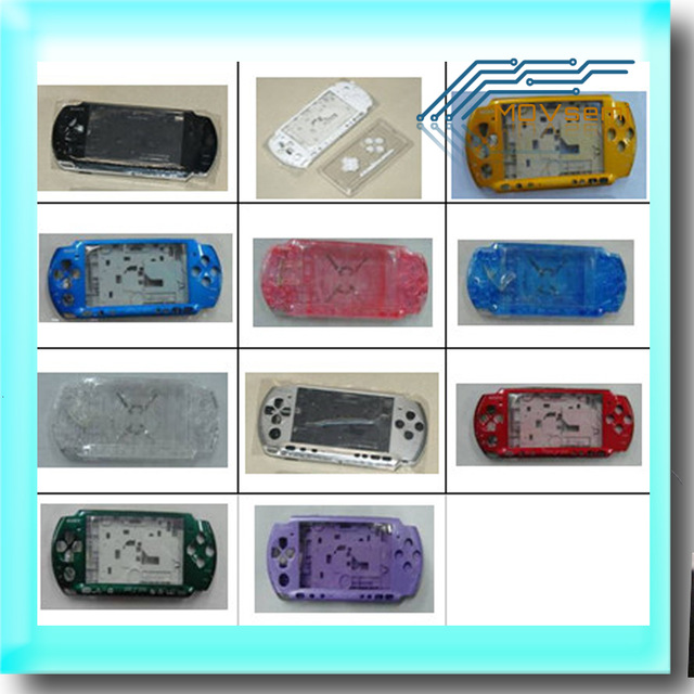 Free shipping For PSP3000 PSP 3000 Shell Old Version Game Console replacement full housing cover case with buttonspsp 3000psp replacementpsp 3000 shell -