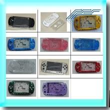 Gratis verzending Voor PSP3000 PSP 3000 Shell Oude Versie Game Console vervanging volledige behuizing cover case met knoppen