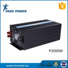 3000W 24V DC to 220-240V AC Pure Sine Wave Inverter 6000W Peak Power decen 24v 3000w peak power 6000w pure sine wave solar off grid inverter built in 40a mppt controller with communication lcd