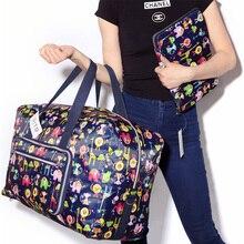 24 цвета Высокое качество складная дорожная сумка большой емкости Водонепроницаемые сумки с принтом портативная женская сумка-тоут собака дождь путешествия Ba