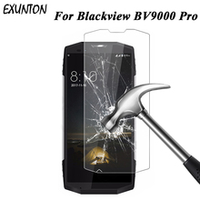 EXUNTON 2PCS For Blackview BV9000 Pro Tempered Glass BV 9000 2.5D 9H Screen Protector Film BV9000pro
