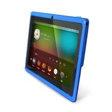 Бесплатная доставка 7 «A33 Quad Core 1.5 ГГц четыре Цвета Q88 7 дюймов Tablet PC 1024×600 двойной Камера 2500 мАч 8 ГБ