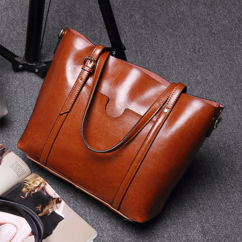 SMILEY SUNSHIINE Genuine Leather Women Bag Big Handbag Fashion Top-handle Hand Bag Ladies Tote Large Female Luxury Shoulder Bag все цены