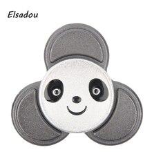 Elsadou Cute Panda Hand Spinners Fidget Toy Finger Spinner Metal