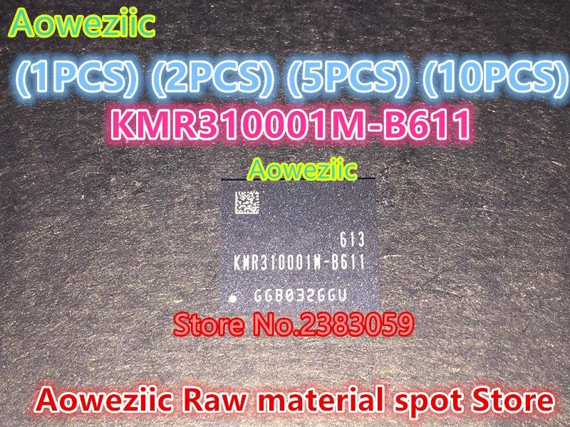 Aoweziic (1PCS) (2PCS) (5PCS) (10PCS)  100% New original  KMR310001M-B611   BGA   Memory chip aoweziic 5pcs 100