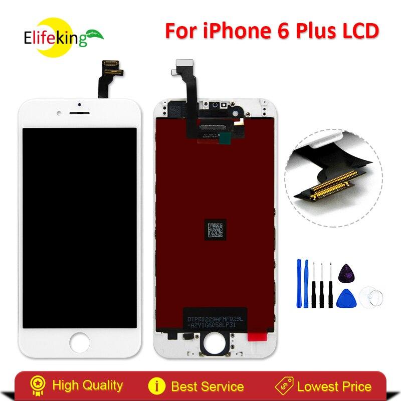imágenes para Elifeking Buena LCD Para Iphone 6 más 5.5 pulgadas LCD Pantalla LCD Touch Screen Reemplazo Digitalizador Asamblea con Herramientas