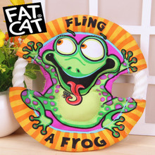Fatcat Small Frisbee Pet Toy Dog Toys Puppy Toys Flying Discs Cotton Rope Toy Wholesale Brand Pet Products