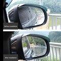 Универсальные непромокаемые наклейки на зеркало заднего вида автомобиля для гольфа 6 audi a6 mercedes w204 opel mokka citroen volvo v50 bmw x1 dacia