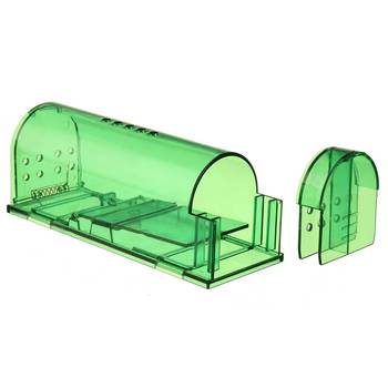 2X Reusable Plastic Rat Catcher Cage for Large Live Rodent from Indoor Factories and Garage