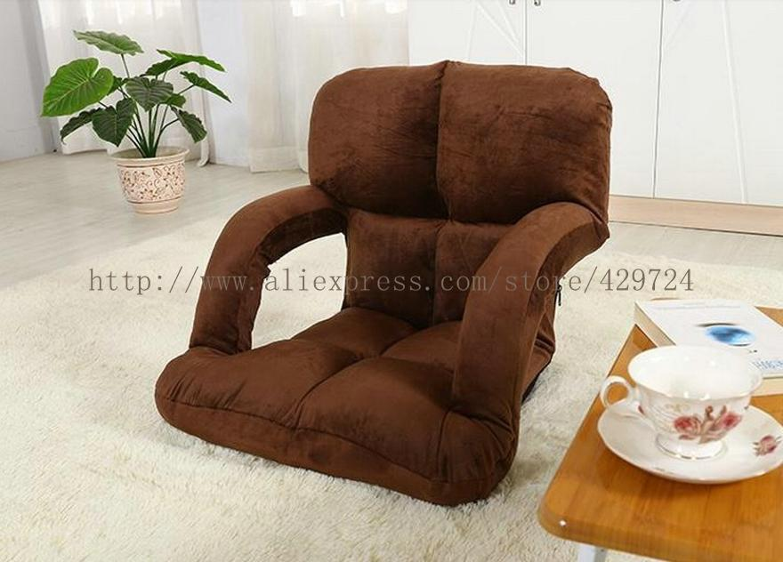 Creative Design, Lazy Boy Sofa, Comfortable Leisure Sofa with Armrest, Folded Sofa Bed, Sofa Cushion Tatami Furniture SF003