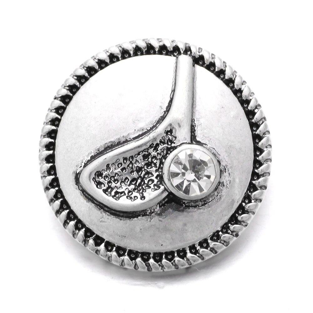 10Pcs/lot Xinnver Snap Golf Button Bracelet Bangles Fit DIY 18mm Snap Buttons Charm Bracelets Jewelry ZA302