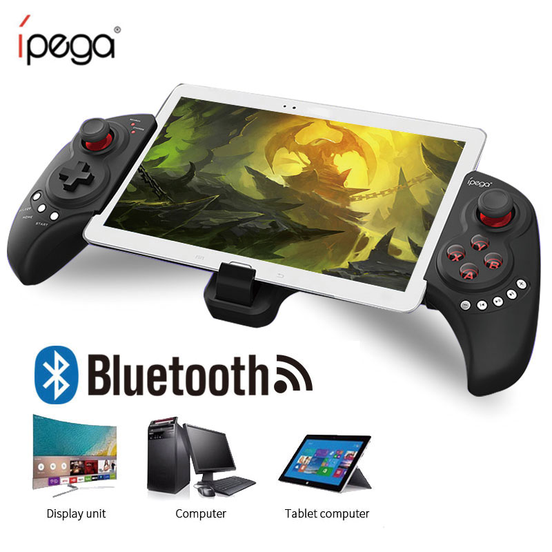 iPEGA PG-9023 Joystick Wireless Bluetooth Gamepad Telescopic Game Stretch Controller For iPhone pad/Android IOS Tablet PC PG9023 ipega pg 9028 practical stretch bluetooth game controller gamepad joystick with stand