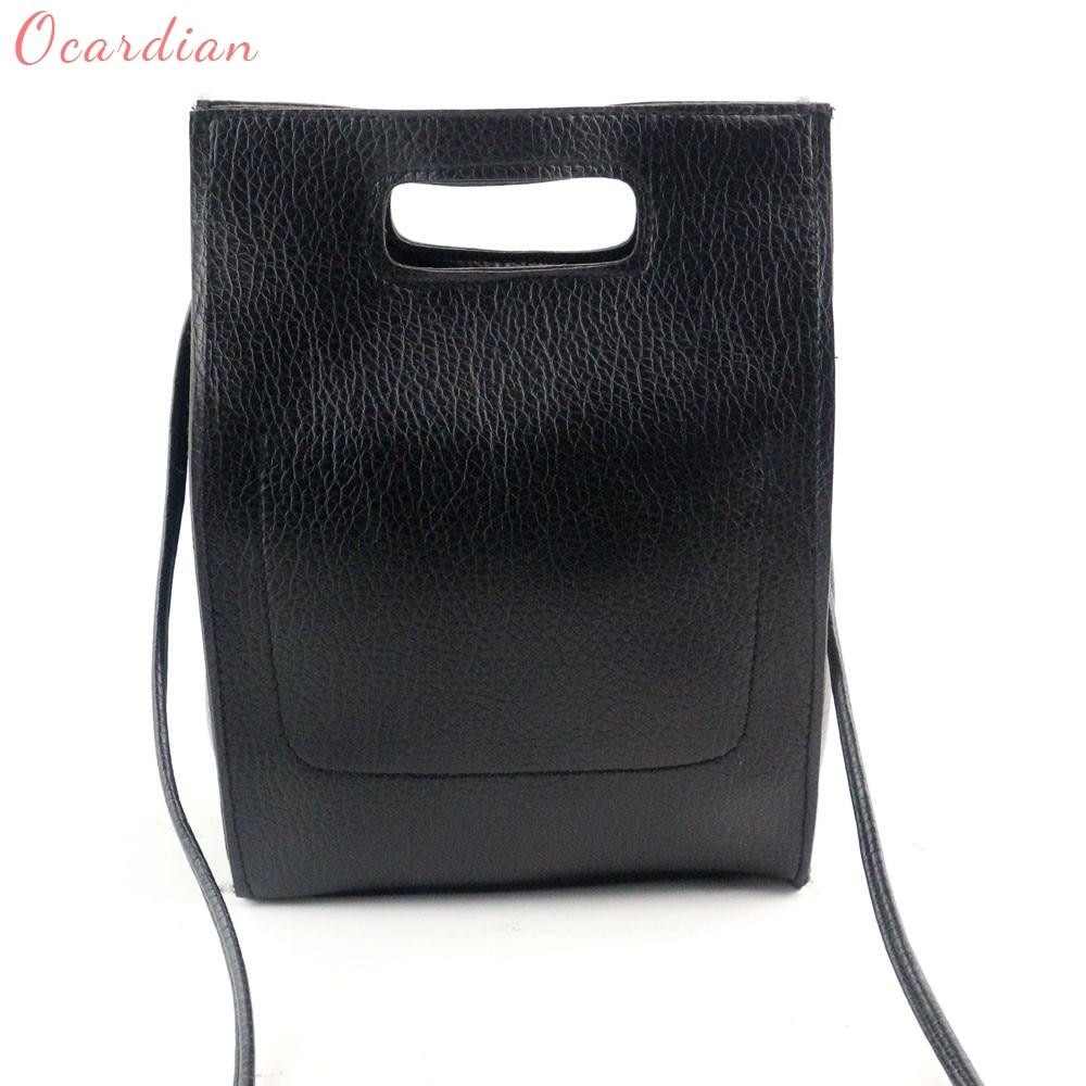 OCARDIAN High Quality Popular Women Fashion  Handbag Shoulder Bag Large Tote Ladies Purse Dropship 170728