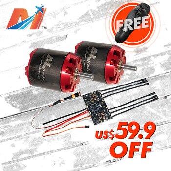 Maytech SALE 6374 170KV electric powered skateboard motor dual ESC based on VESC controller