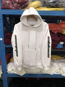 Image 4 - High quality Feece Season 4 Calabasas KANYE WEST hoody Pullover Hoodie oversize Men Women Brand Clothing Long sleeve Sweatshirt