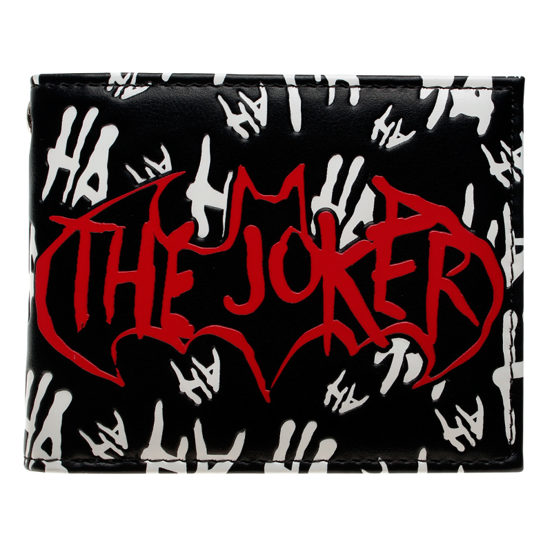 DC Comics The Joker Bi-Fold Wallet DFT-10007 star trek command metal logo bi a fold wallet dft 1404