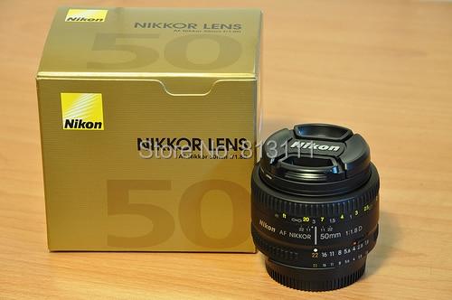 Objectif Nikon 50 1.8 D Nikkor AF 50mm f/1.8D objectifs pour Nikon D90 D7100 D7200 D610 D700 D810 D5 appareil photo numérique professionnel