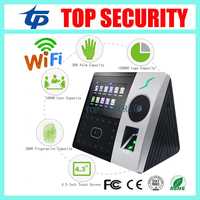 ZK Pface202 face and palm time attendance 1200 face capacity fingerprint access control optional RFID/MF card and Battery