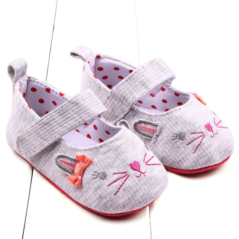 Baby Shoes Baby Girls Shoes With Bow Princess Dots Design Toddler Girl Newborn First Walker Chaussure Girls Bebe Sapatos First Walkers