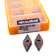 цена на VNMG160404 MA VP15TF 10PCS Carbide Inserts CNC Lathe Cutting Tool Knife Blades Internal Turning Tool