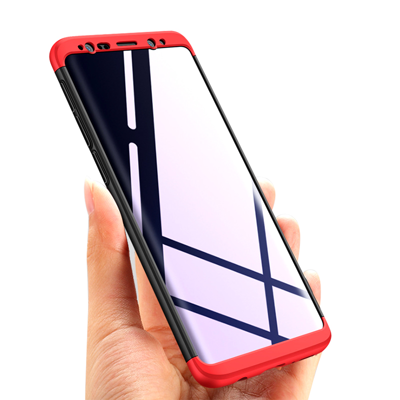 360 volle Schutz Ultra Thin <font><b>Hard</b></font> Cover Für <font><b>Samsung</b></font> Galaxy A6 A8 A9 Star Pro J4 J6 J7 Duo J8 plus Prime 2018 C9 Pro Fall image