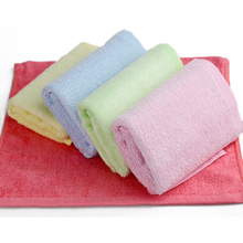 Face Washers 100%Bamboo-Fiber Towel Newborn Infant Baby Absorption Highly-Water 4pcs/Set