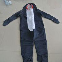 Серый взрослых акула костюм костюмы животных акула косплей челюсти косплей животных партии cosplay забавный комбинезон