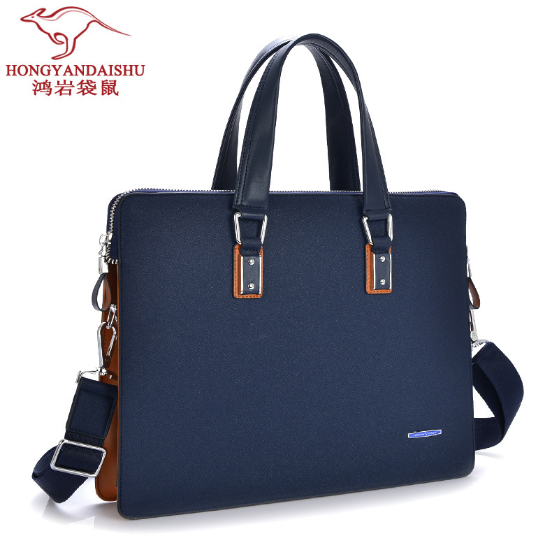 HOT! European Style New 2016 High Quality Brand Men Genuine Leather Handbags One Shoulder Messenger bags Men's Computer Handbag brand new high quality warranty for one year bes m18mg psc16f s04k